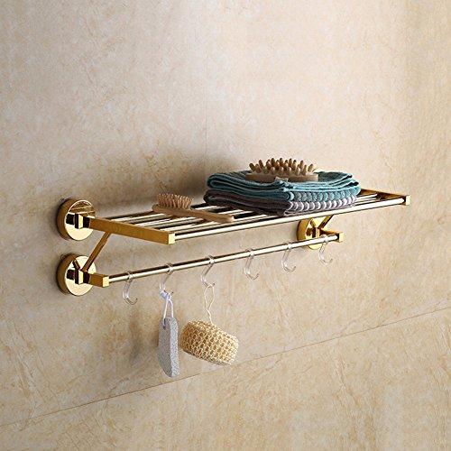 BBSLT Ventosa portasalviette ventose senza marchio ripiano Mensola per bagno