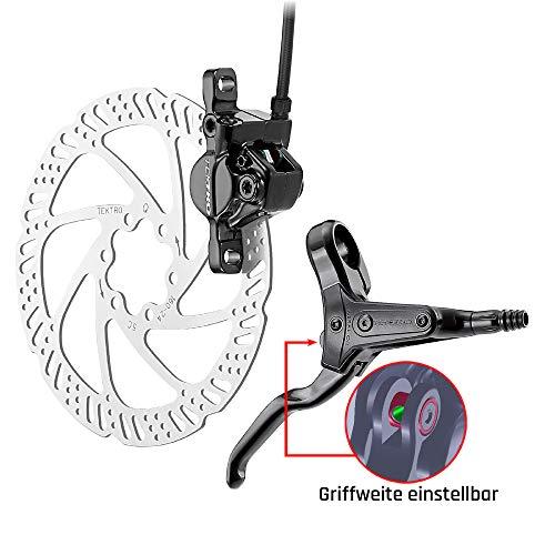 Tektro HD-M285 hydraulische Scheibenbremse Fahrrad Mountainbike Fahrradbremse Bremsen (hinten)