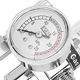 Misuratore di gas argon Misuratore di portata a saldare con riduttore di pressione del gas...