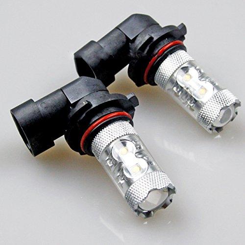 TMT LEDs (TM) 2 x ampoules lED voiture 9005 HB3 50 W Osram 750 lumenes anti-brouillard haute puissance blanc