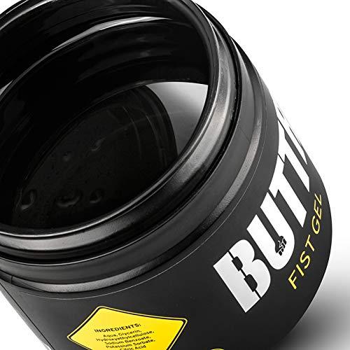 Fisting Gel (500ml) BUTTR Gleitgel auf Silikonbasis – langanhaltend gleitfähig für Analverkehr, glatt & dick für starke Penetration, hautfreundliche Formel, geruchlos & durchsichtig, mit Anleitung