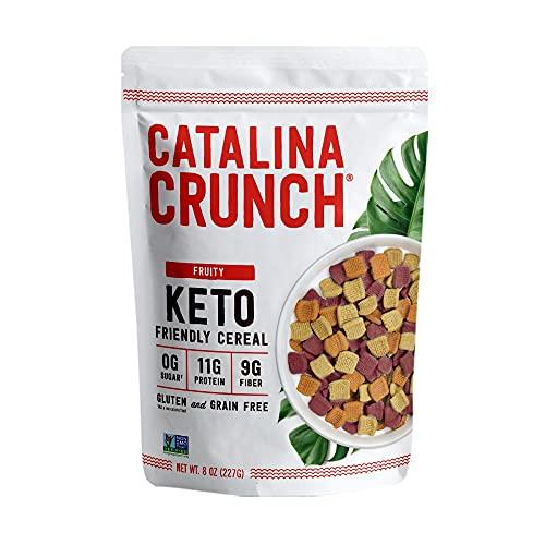 Cereali con Frutti | Senza zucchero, keto, basso contenuto di carboidrati, senza glutine | Catalina Crunch | 255 g