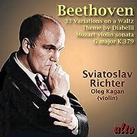 Diabelli Variations Op. 120 / Violin Sonata in G by SVIATOSLAV / KAGAN,OLEG RICHTER