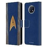 Head Case Designs sous Licence Officielle Star Trek Discovery Commande Uniformes Coque en Cuir à...