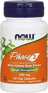 Now Foods Phase 2 Starch Neutralizer 500 mg - 60 Veg Capsules