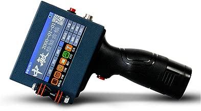 BAOSHISHAN Handheld Inkjet Printer Date Coder Coding Machine Automatic Charged for Printing Trademark Brand Logo Graphic Date