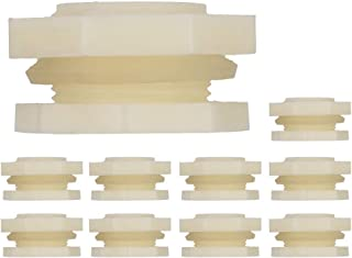 10Pcs Connetors Adapter Tower Thread Fish Tank Adapter Connector, Water Tank Connectors, for Water Tank(6 points)