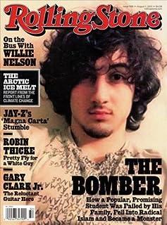 Rolling Stone Magazine (August 1, 2013) Dzhokhar Tsarnaev Cover