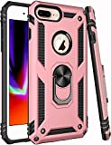 Universal for iPhone 8 Plus Case,iPhone 7 Plus Case,iPhone 6 6s Plus Case,ZADORN 15ft Drop Tested Military Grade Heavy Duty Slim Fit Protective Phone Case for iPhone 6 6S Plus/7 Plus/8 Plus Brass