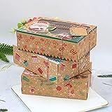 Zoom IMG-2 ifundom scatole per biscotti natalizi