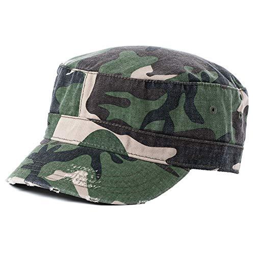 Atlantis Unisex Sonnenhut Baseball Cap Sommermütze Truckercap Outdoor Sport Mütze Camouflage L/XL