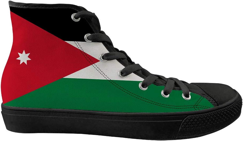 Owaheson herrar     kvinnor de loisirs haut de gamme skor de sport classique skor adultes skor de sport drapeau jordanien  100% autentisk