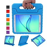 NEWSTYLE Tab A 9.7 Shockproof Case Light Weight Kids Case Super Protection Cover Handle Stand Case for Kids Children for Samsung Galaxy Tab A 9.7 9.7-inch SM-T550 SM-P550 - Blue Color