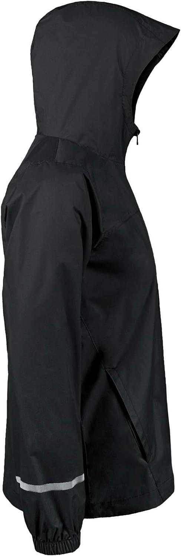 NAVISKIN Boys Waterproof Rain Jacket Lightweight Hooded Raincoat Poncho for Kids Girls