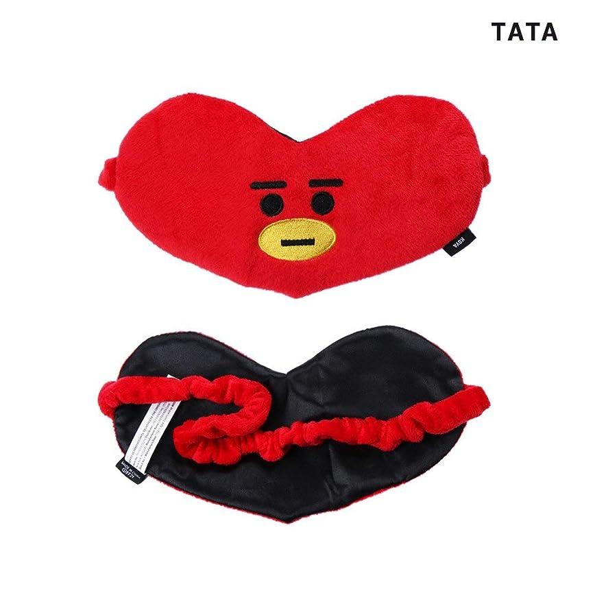 ヒューズ作る決してNOTE かわいいアイマスクK-POP BTSバンタンボーイズレストスリープマスクBT21スガタタチミーRJクッキーアイシェードアイマスクパッチ睡眠ケアツール