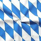 STOFFKONTOR 100% Baumwollstoff Bayern Raute Meterware