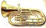Euphonium Brass Polish Tube euphonium 3 valves et embout buccal avec sac de...