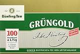 Bünting Tee Grüngold Echter Ostfriesentee 100 x 1.75 g Beutel (1 x 175 g)