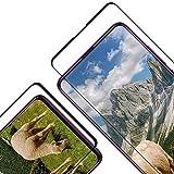 Cristal Templado para Xiaomi Mi 9T/9T Pro, [2 Piezas] [Cobertura Completa] [2.5d Borde] [9H Dureza] [Sin Burbujas] Vidrio Templado Premium Protector de Pantalla para Mi 9T/9T Pro