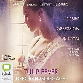 Tulip Fever audiobook cover art