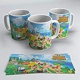 TusPersonalizables.com Taza Animal Crossing (New Horizons)