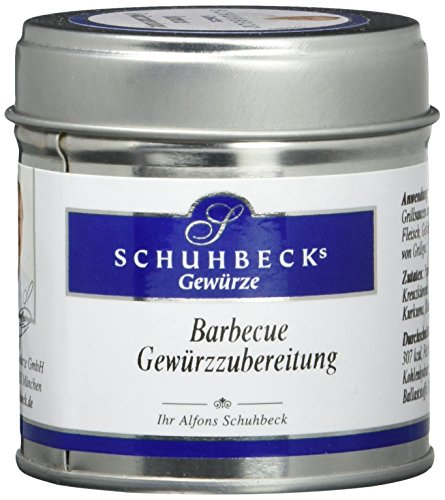 Schuhbecks BBQ Gewürzzubereitung, 3er Pack (3 x 55 g)