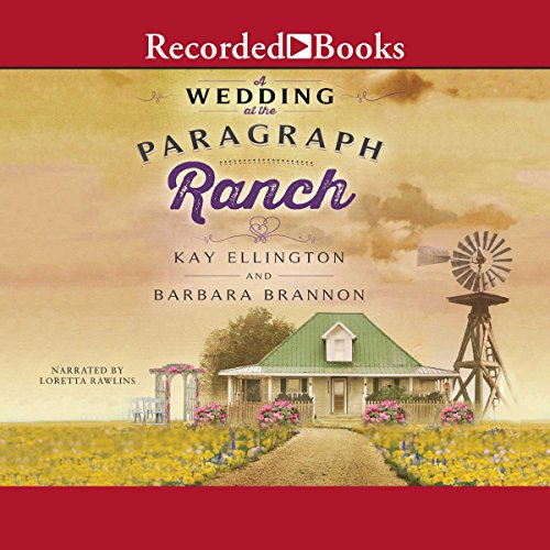 A Wedding at the Paragraph Ranch audiobook cover art