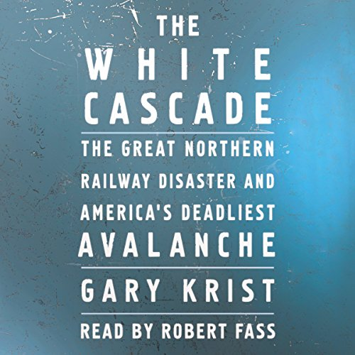 The White Cascade audiobook cover art
