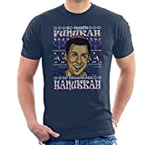 Cloud City 7 Adam Sandler So Much Funukah Hanukkah Christmas Knit Pattern Men's T-Shirt