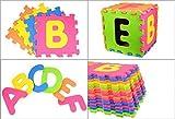 Puzzle Tapis Tapis Tapis de jeu tapis de jeu tapis d'éveil Enfant 26tlg Eva