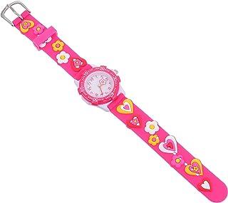 Balacoo Kids Waterproof Sports Watch Children Quartz Dial Watch Fashion Wrist Watch for Little Child Toddler Girls Boys Rosy