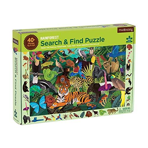 Rainforest Search & Find Puzzle: 64 Piece Puzzle