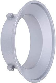 TOPTOO Soporte Intercambiable de Metal para Accesorios de Montaje Bowens Que se utilizar/á para Flash Profoto