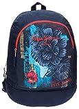 Pepe Jeans 6422351 Mangrove Mochila Escolar, 21.29 litros, Color Azul