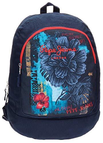 Pepe Jeans 6422351 Mangrove Mochila Escolar  21.29 litros  Color Azul