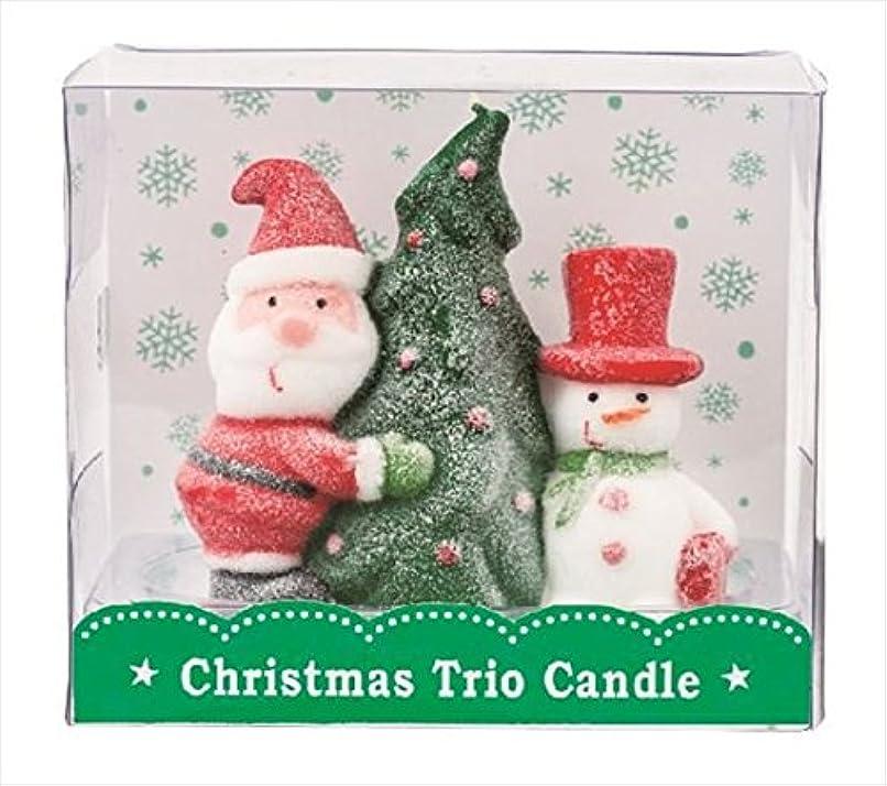 歌手集中的な悪性kameyama candle(カメヤマキャンドル) クリスマストリオキャンドル 「 ツリー 」(A3220020)