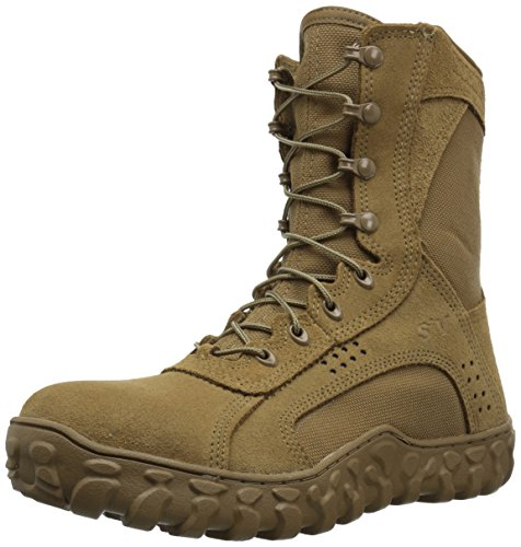 ROCKY Men's RKC053 Military and Tactical Boot, Coyote Brown, 14 W US
