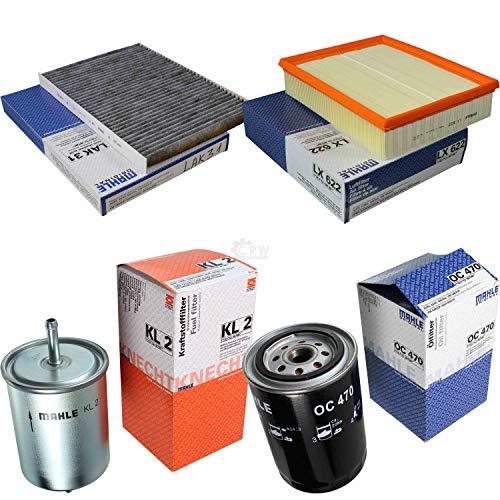 MAHLE Inspektions Set Inspektionspaket Innenraumfilter Kraftstofffilter Luftfilter Ölfilter