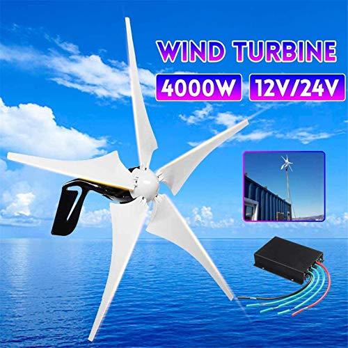 Fangfang Turbina de Viento, 4000W Energía Eólica Electricidad del generador 12V /...
