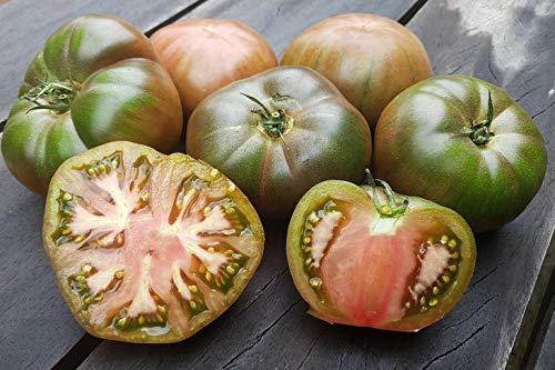 10 Black Krim Tomate Samen, russische heirloom tomate von der Krim