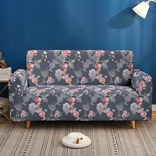 Funda Elástica de Sofá Funda Estampada para sofá Antideslizante Protector Cubierta de Muebles (Two Plazas) B,2seater