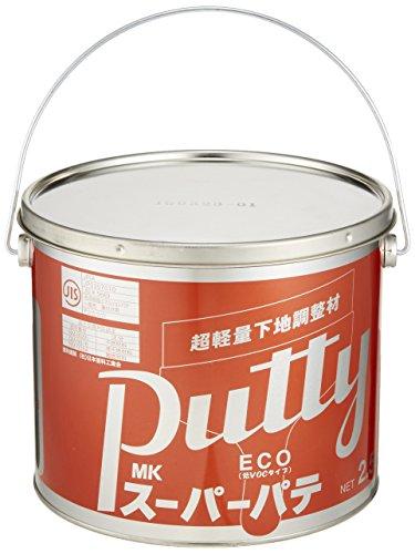 メーコー ECOスーパーパテ 白 2.5L