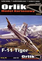 ORLIK 1:33 Grumman F-11 Tiger (Card Model)