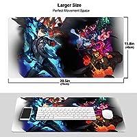 ペルソナ5 アニメ ゲーム マウスパッド 光学マウス対応 パソコン 周辺機器 超大型 防水 洗える 滑り止め 高級感 耐久性が良い 40*75cm