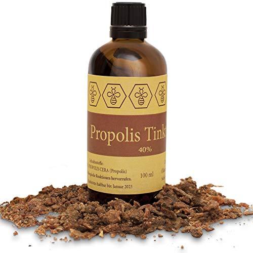 100ml NORDBIENCHEN teinture de propolis - avec 40% propolis - venue directement de l'apiculteur