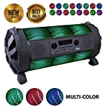 EMB - EBZ100 Rechargeable Portable Boombox Speaker System 600w Colorful LED...