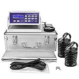 LeCuag Ionic Foot Bath Detox Machine, Professional Ion Cleanse Ionic Detox Foot Bath Spa Machine with LED Display, Far Infrared Belt