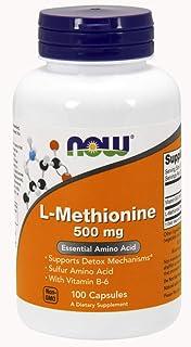 NOW Foods L-Methionine 500 mg 100 Caps