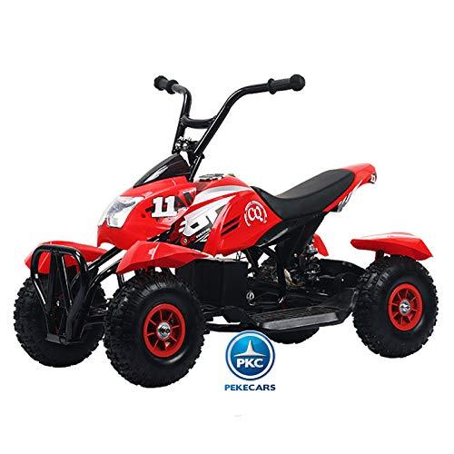 PEKECARS Mega Quad 4100 24V Rojo