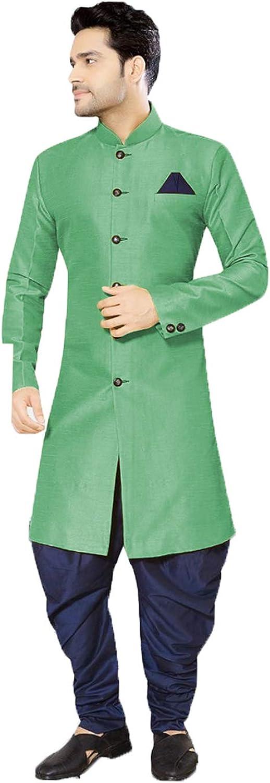 daindiashop-USA Attention brand Exclusive Indian shipfree Men Partywear Sherwani Jodhpuri